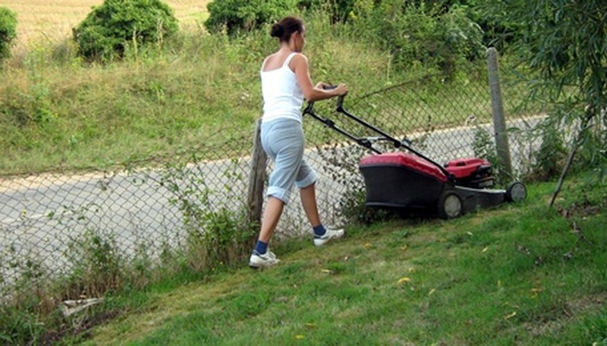 Choose a lawn mower that fits your lifestyle.