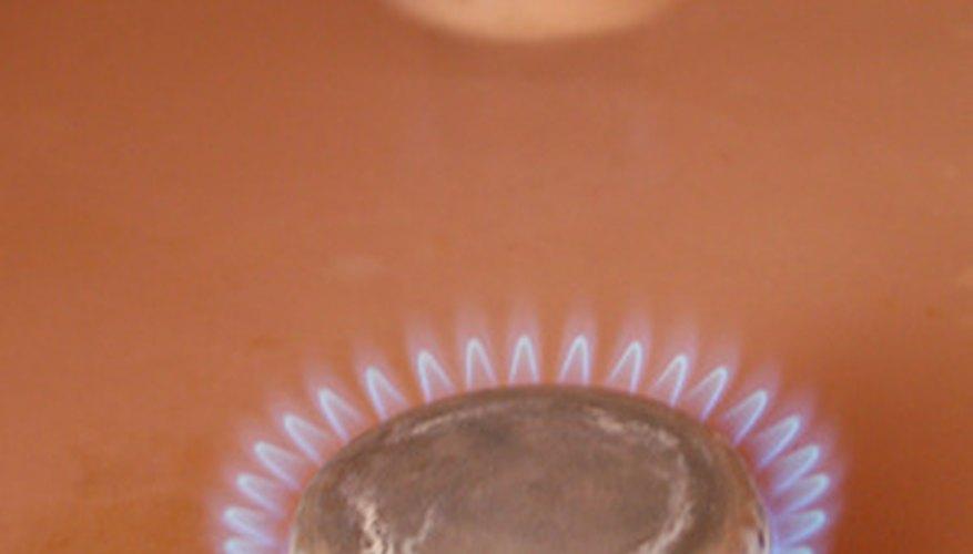 Las boquillas de propano y de gas natural no son intercambiables.