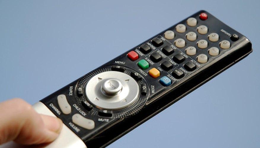 Los controles remotos de la televisión usan un LED para enviar una señal infrarroja a las televisiones.