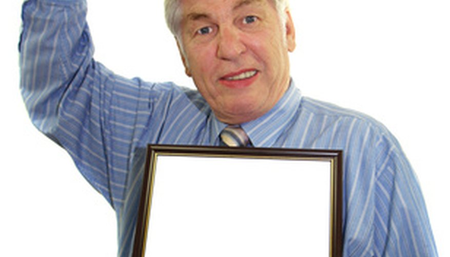 man holding blank tablet