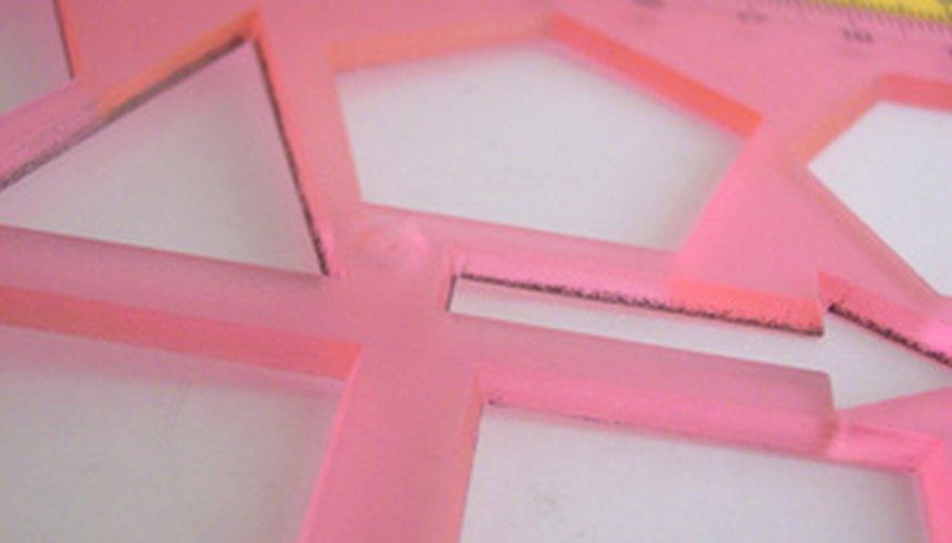 Traza los contornos en papel rígido para hacer los moldes de tus bloques.