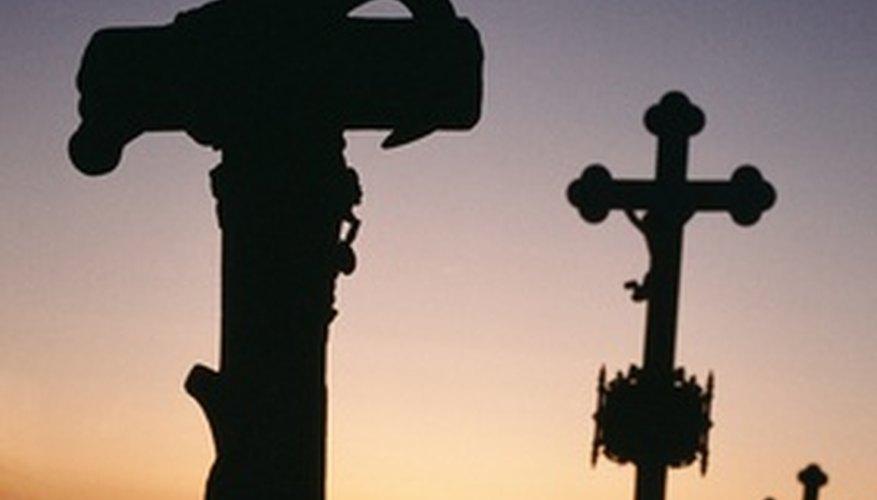 Las cruces representan la gracia de Dios por tomar el castigo de nuestros pecados sobre Él.