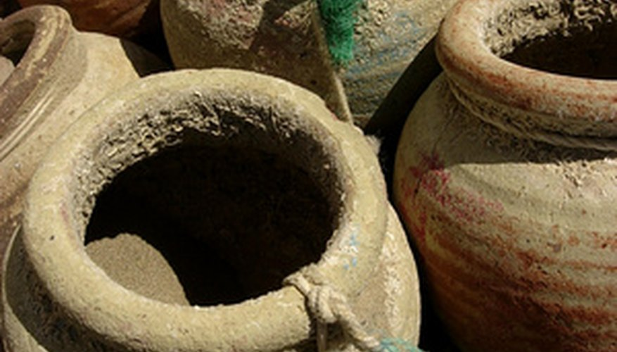 Pottery is a traditional art in many cultures.
