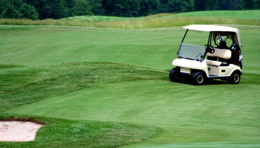 Golf courses require frequent maintenance.