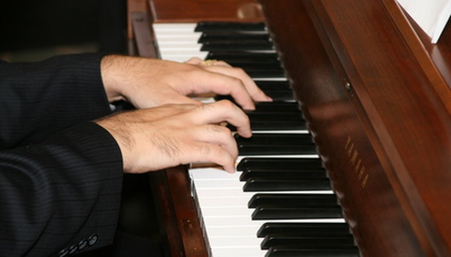 Power chords can be played on a piano as well as a guitar.