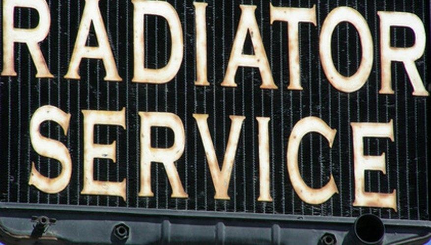 El radiador es una parte esencial del sistema refrigerante de la Dodge Caravan.