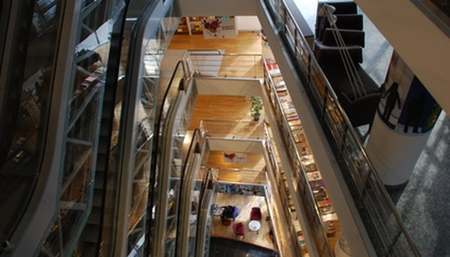 Escalators affect a store's traffic and its costumers' buying behavior.