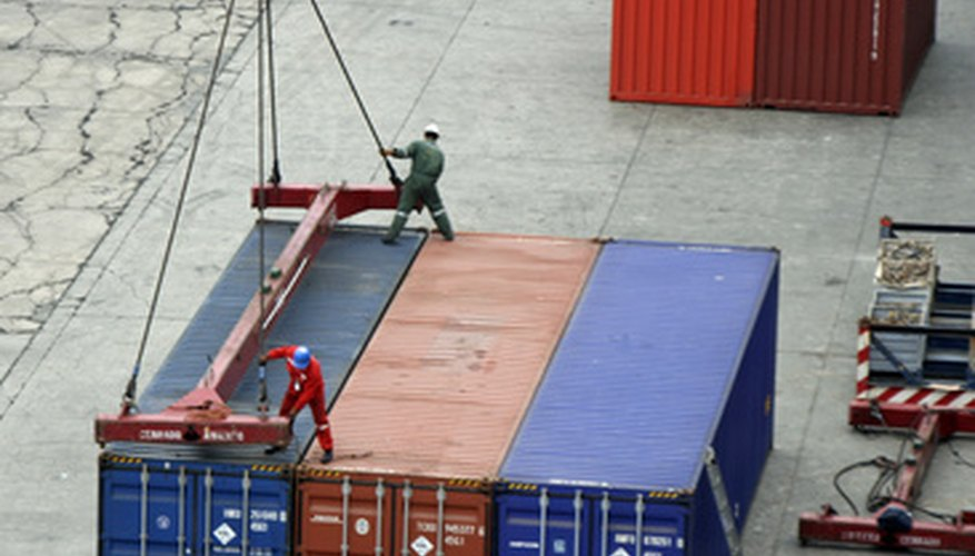 Transportation logistics intersects with the Internet through supply chain management.