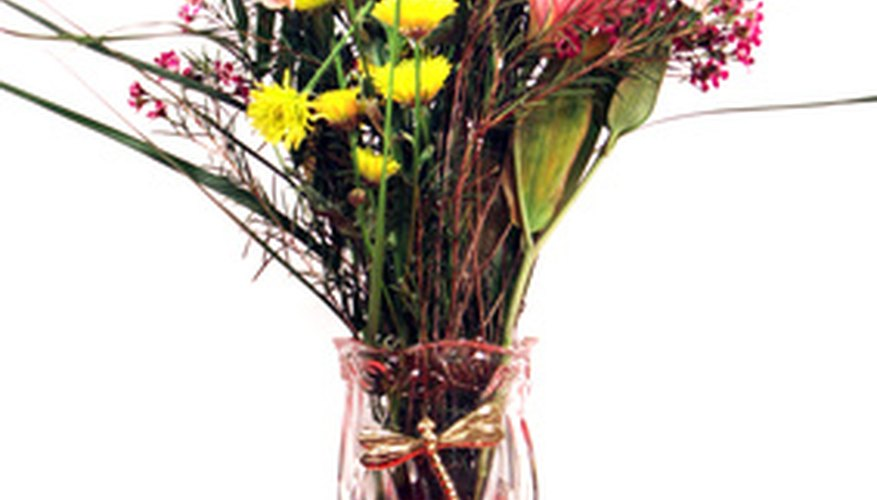Create a  bouquet of mixed flowers symbolizing new beginnings.