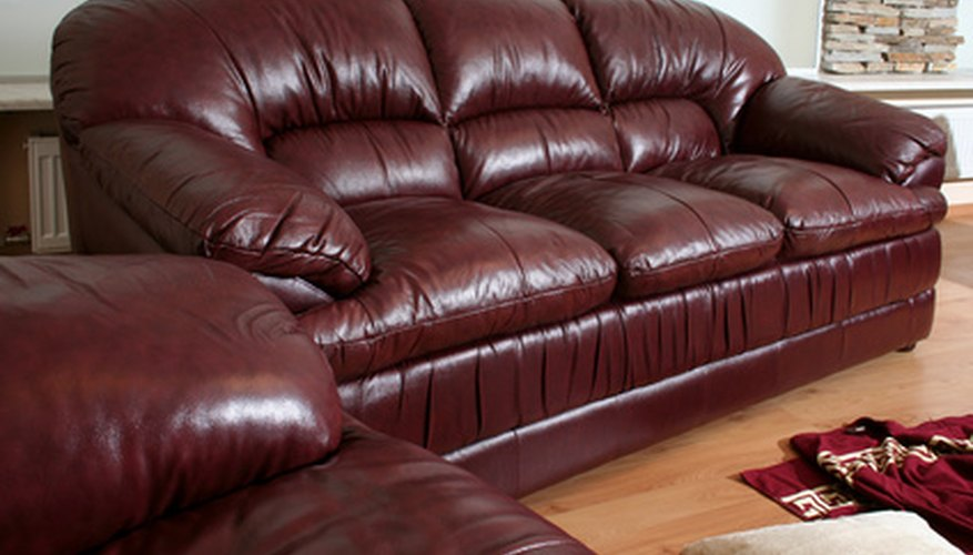 Old leather can be restored to its original luster.