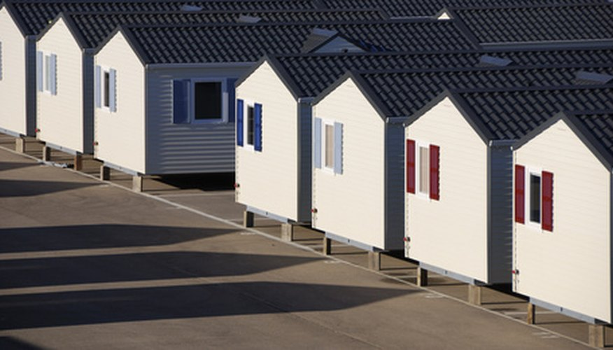 Texas has many laws governing the setup of mobile homes.