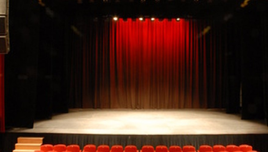 Traditional book musicals typically play in very large theaters.