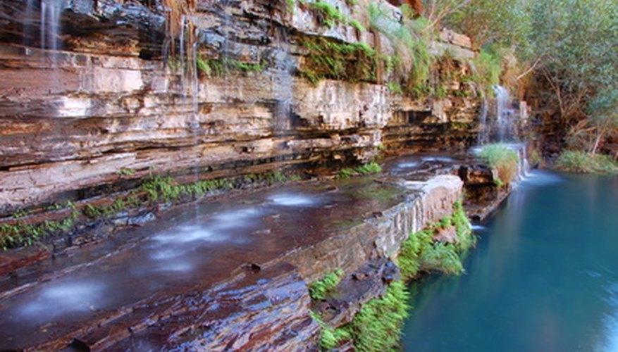 Muchos monumentos nacionales en Australia son maravillas naturales como Kakadú.