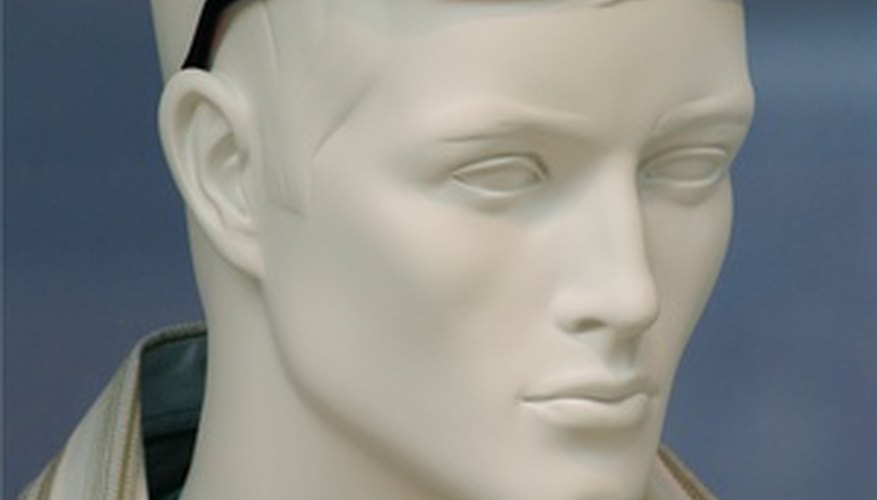 Restore a used mannequin for display in your shop window.