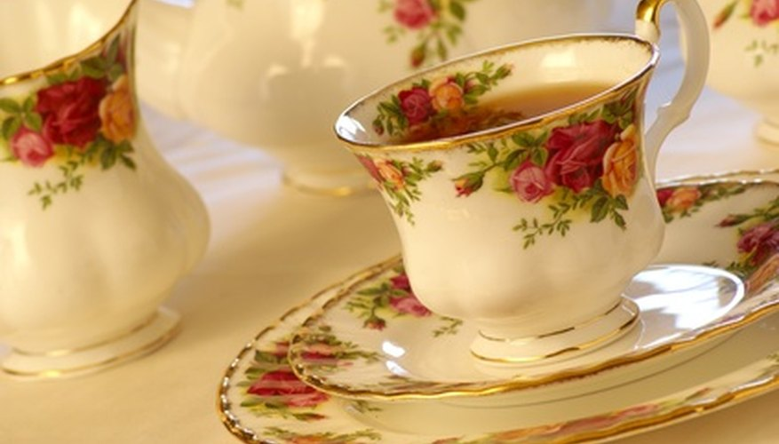 If selling a bulky item such as a tea set, consider inviting the dealer to your home where he can see it displayed.