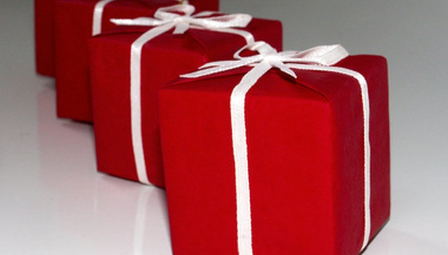 How to start a gift wrapping service and how to set the prices gift wrapping services can make a present look its best negle Image collections