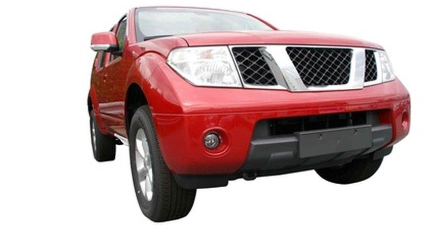 Un sensor de posición del motor controla el encendido en el Nissan Pathfinder.