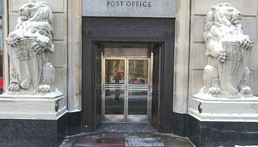 Mail carriers work out of local or regional post offices.