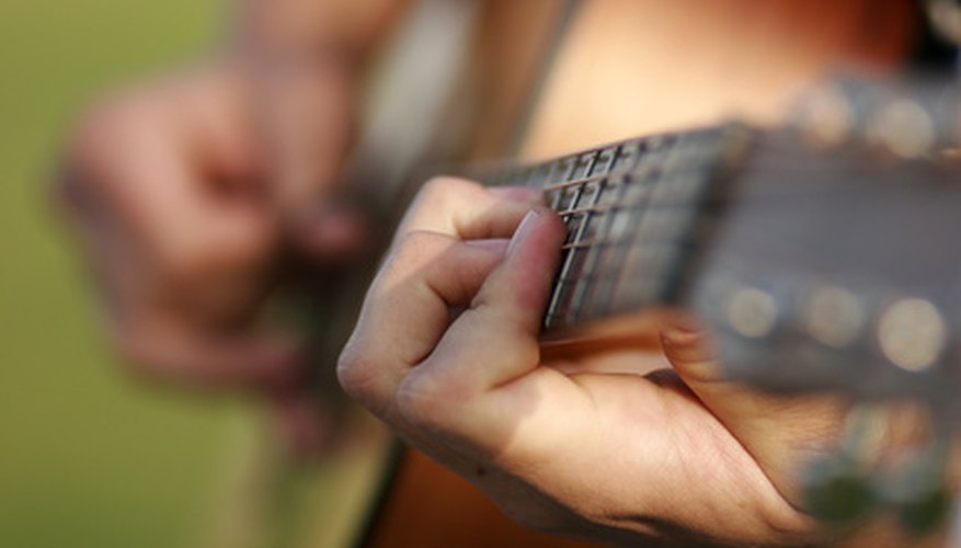 Understanding a few basic aspects of the guitar and notation can help you learn simple songs.