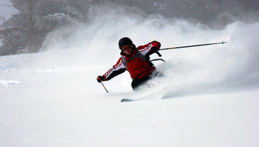 El esquí es una actividad popular en Ruidoso.