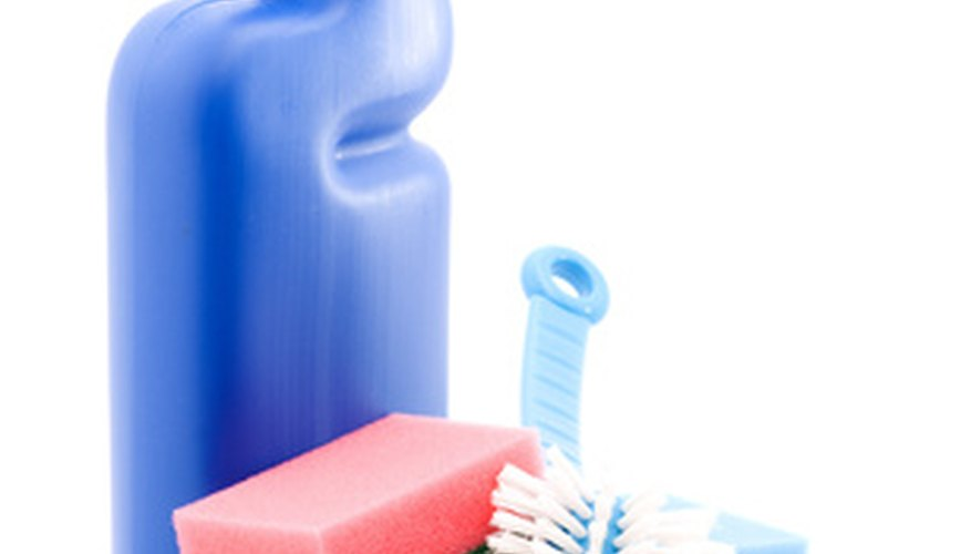 Care should be taken using homemade cleaners.