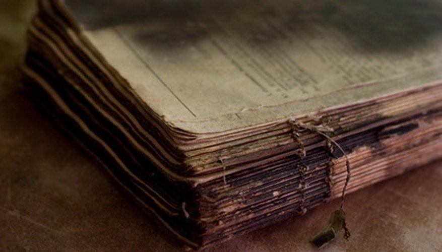Los informes sobre trabajos de fuentes anteriores perdidas son a menudo considerados como fuentes primarias.
