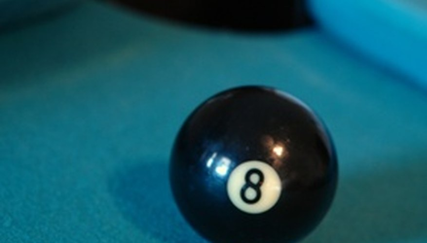 With this clear shot on the eight ball, this game is almost over.