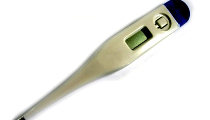 Digital thermometers usually have settings that allow you to take readings in both Celsius and Fahrenheit.