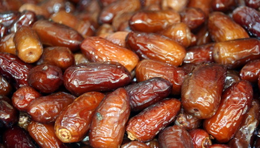 Sugary dates are used in many recipes.