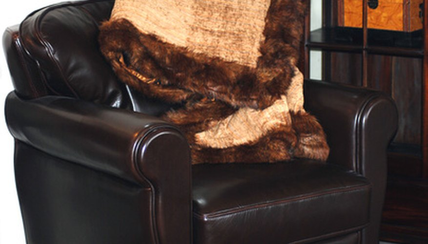 Repurpose an old fur by making a fur throw.