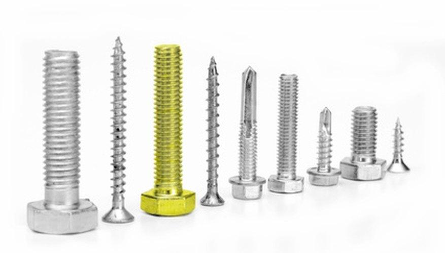 Distintos tornillos requieren diferentes cantidades de torque para ajustar apropiadamente.