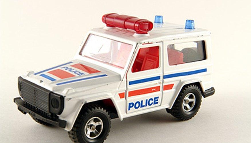 Los juguetes de policía pueden ser regalos.