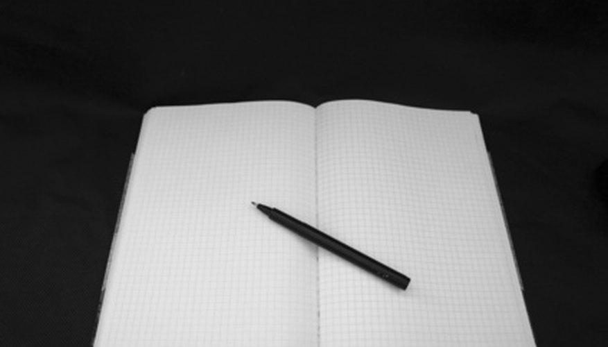 Cómo crear un cuaderno de bitácora científico.
