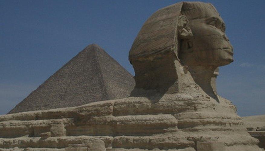 La famosa Esfinge egipcia.