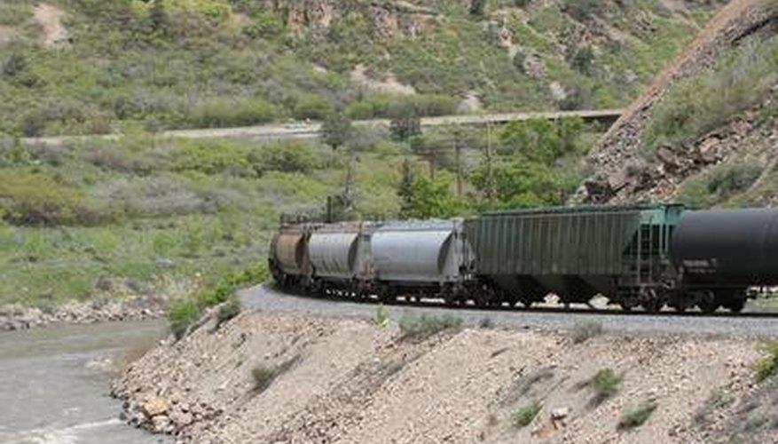 El humo de un motor puede añadir un efecto más realista a tu tren modelo.