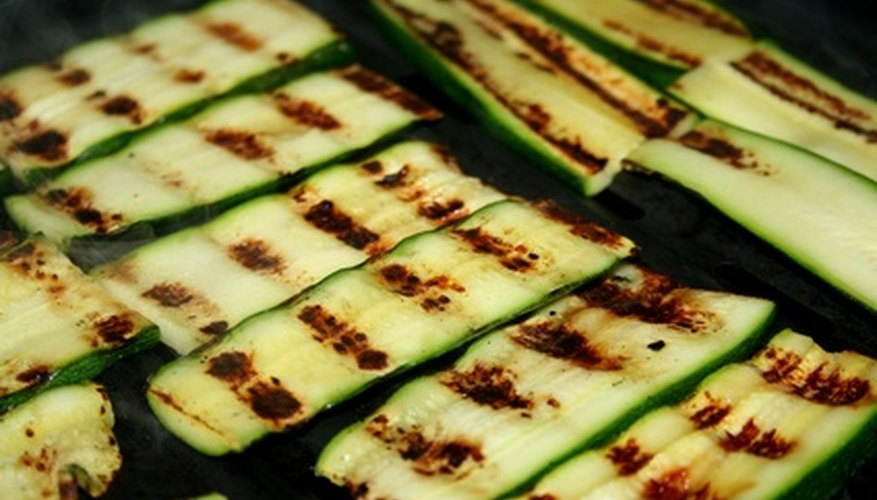 Grilled zucchini is one of the many benefits of growing your own vine.
