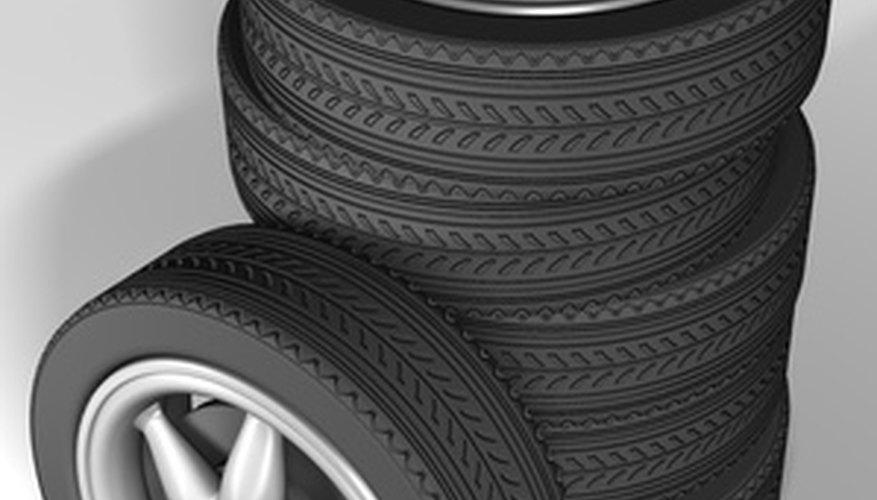 La rotación de los neumáticos se utiliza para aprovechar al máximo su vida útil.