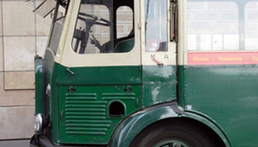 Autobús antiguo.