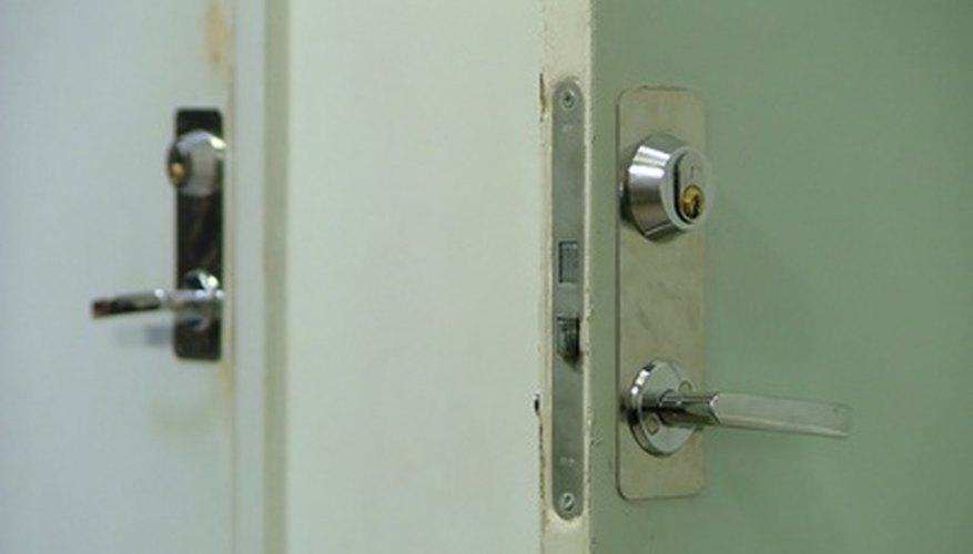 These doors need to meet ADA regulations. & ADA Door Regulations | Bizfluent
