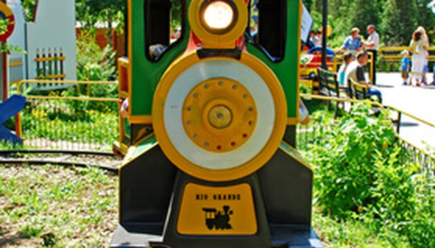 A toy train you can actually ride is a dream for many kids.