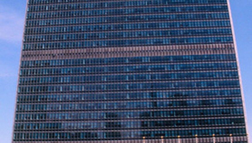 La sede central de las Naciones Unidas en la Ciudad de Nueva York.