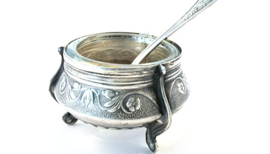 Silverplate is less expensive to produce than sterling silver.