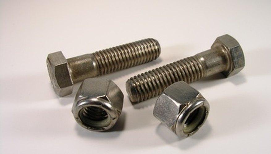 Clasificación de los tornillos de acero inoxidable.