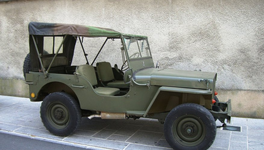 La caja de transferencia es parte del sistema de tracción de cuatro ruedas en los vehículos como este todoterreno.