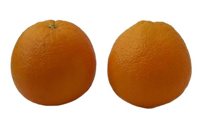 Las naranjas pierden su color si entran en contacto con un hongo.