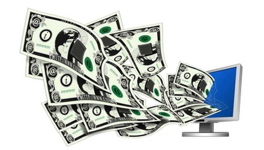 electronic banking, visualized