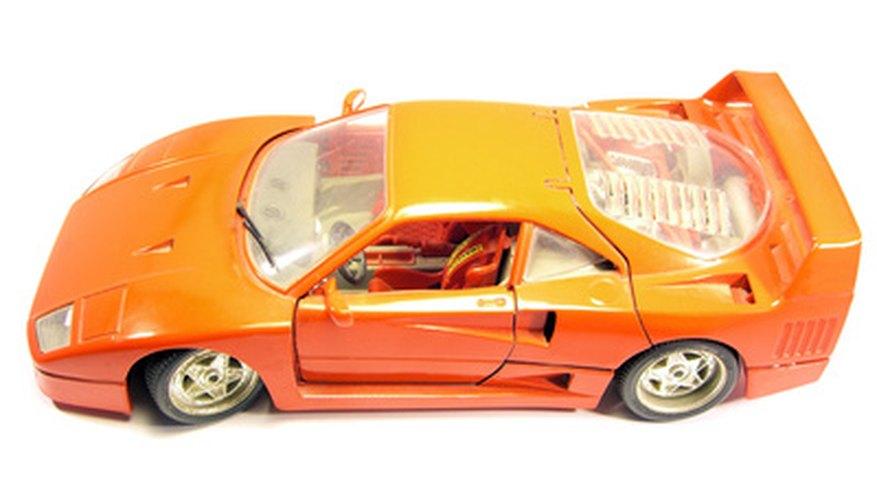 carro vermelho desportivo