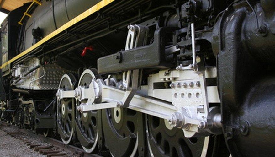 Los trenes fueron los primeros vehículos en utilizar frenos de aire en 1869.
