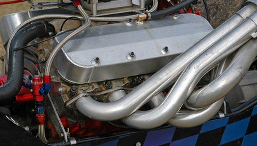 Los bloques del motor se forjan con aluminio.