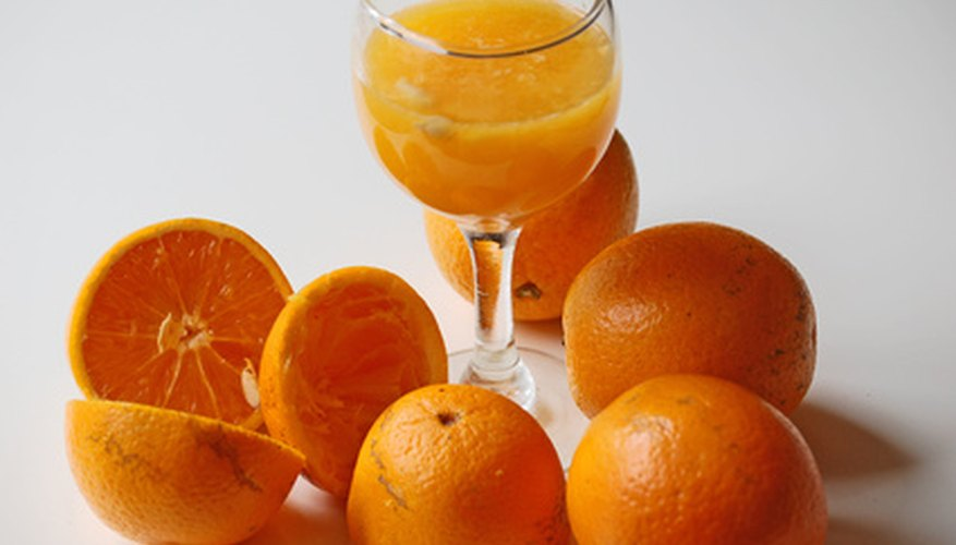 Orange juice is bad for plants in large amounts, but it can be good in very small doses.